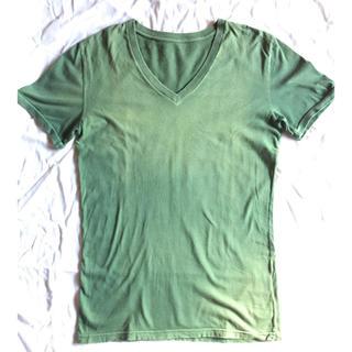 ウィンアンドサンズ(Win&Sons)のDELAY by Win & Sons カットソー Vネック GR(Tシャツ/カットソー(半袖/袖なし))