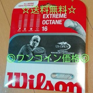 ウィルソン(wilson)の送料無料&ワンコイン☆ウィルソンテニス用ガット☆(ラケット)