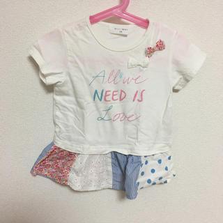 ウィルメリー(WILL MERY)の110☆半袖チュニック Tシャツ(Tシャツ/カットソー)