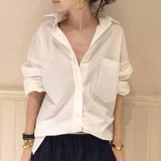 アパルトモンドゥーズィエムクラス(L'Appartement DEUXIEME CLASSE)のビックシャツ  タイプライター(シャツ/ブラウス(長袖/七分))