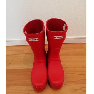 ハンター(HUNTER)のハンター レインブーツ(赤)(レインブーツ/長靴)