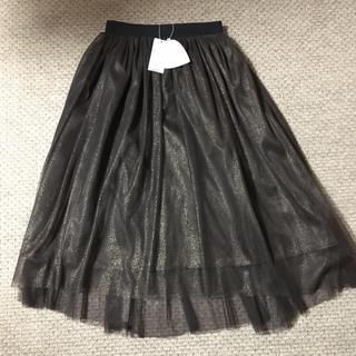 トランテアンソンドゥモード(31 Sons de mode)のチュールスカート  (ひざ丈スカート)