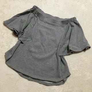 ダブルスタンダードクロージング(DOUBLE STANDARD CLOTHING)のダブスタ♡2wayスウェットトップス(カットソー(半袖/袖なし))