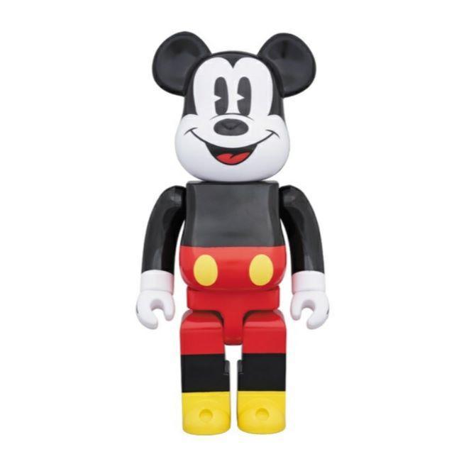 MEDICOM TOY(メディコムトイ)のベアブリック ミッキーマウス 400% BE@RBRICK  エンタメ/ホビーのフィギュア(その他)の商品写真