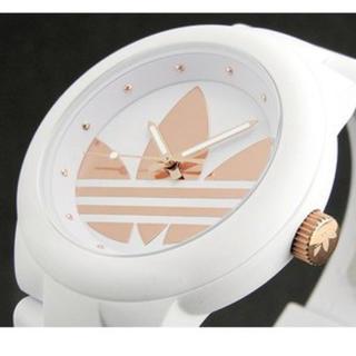 アディダス(adidas)のadidas 時計ピンクゴールド レディース(腕時計)