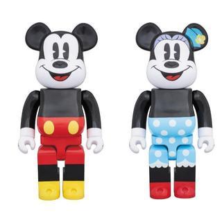ベアブリック ミッキーマウス & ミニーマウス 400% BE@RBRICK