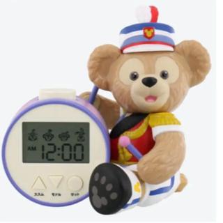 Disney - 新品 ディズニー ダッフィー  目覚まし時計