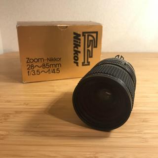 ニコン(Nikon)の【カビ有】Zoom-nikkor 28mm-85mm f3.5~f/4.5(レンズ(ズーム))