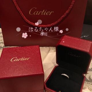 カルティエ(Cartier)の限定セール!極美品⭐️カルティエ◾️フルエタニティリング ダイヤモンド◾️8号(リング(指輪))