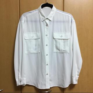 ジーユー(GU)のGU☆ダブルポケット シャツ(シャツ/ブラウス(長袖/七分))