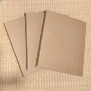 ムジルシリョウヒン(MUJI (無印良品))の無印良品 再生紙4穴ファイル2点 再生紙2穴ファイルパイプ式1点 A4(ファイル/バインダー)