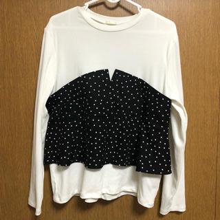 ジーユー(GU)のGUトップス(Tシャツ(長袖/七分))