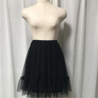 チュージーチュー(choosy chu)のチュールスカート(ミニスカート)