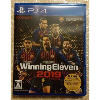 PlayStation4 - 送料込 中古 PS4 ウイニングイレブン2019