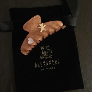 アレクサンドルドゥパリ(Alexandre de Paris)の美品 アレクサンドル クリップ スワロ(バレッタ/ヘアクリップ)