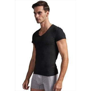 インナーシャツ半袖 Tシャツ 2枚セット 黒(その他)