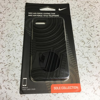 ナイキ(NIKE)の【iPhone8/7 ケース】NIKE AIR FORCE 1 CASE  黒(iPhoneケース)