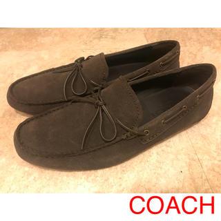 COACH - COACH スエードシューズ ローファー 中古 美品 コーチ 正規品