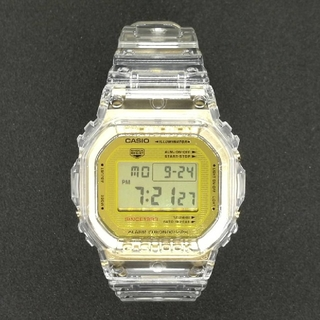 ジーショック(G-SHOCK)のG-SHOCK 35周年記念モデル クリアスケルトン DW-5035E-7JR(腕時計(デジタル))