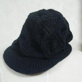 ♡pozzyrap♡ニットキャスケット帽子ZARA H&M (キャスケット)