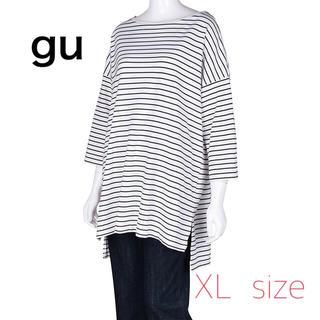 GU - 完売★大人気★GU★ビッグ★カットソーチュニック★大きいサイズ