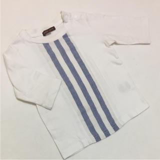 スタジオミニ(STUDIO MINI)の【studio mini/スタジオミニ】女の子 七分袖 カットソー 95(Tシャツ/カットソー)