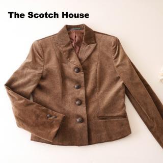 ザスコッチハウス(THE SCOTCH HOUSE)の新品◆41,750円 ザ スコッチハウス ラグジュアリー生地ジャケット(その他)