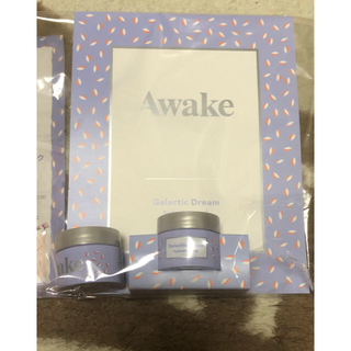 アウェイク(AWAKE)のAwake オイルマスク➕シリコンフリーシャンプー&コンディショナー(フェイスクリーム)