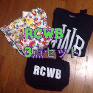 ロデオクラウンズワイドボウル(RODEO CROWNS WIDE BOWL)のMaikitty様専用 RCWB3点(パーカー)