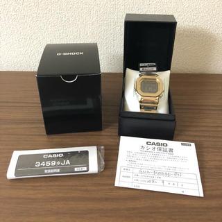 ジーショック(G-SHOCK)の新品 CASIO G-SHOCK GMW-B5000GD-9JF フルメタル(腕時計(デジタル))