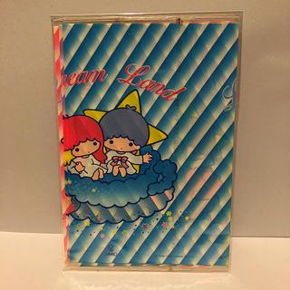 サンリオ(サンリオ)の1984年 キキララ ブックカバー 3枚入り(ブックカバー)