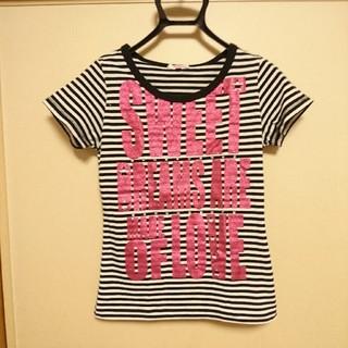 ピンクラテ(PINK-latte)のPink-latte Tシャツ M(2)(Tシャツ/カットソー)