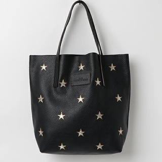 DEUXIEME CLASSE - nur 星刺繍トートバッグ 限定品 ブラック XS ルタロン
