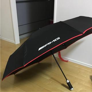 ベンツ AMG 新品 未使用 折りたたみ傘 ワンタッチ