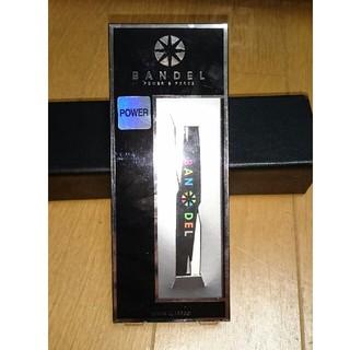 バンデル クロス ブレスレット L 19cm black×multi 極美品(ブレスレット)