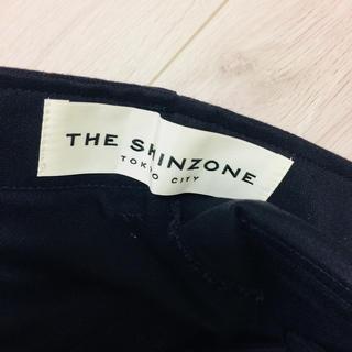 シンゾーン(Shinzone)のSHINZONE ベイカーパンツ ネイビー 32(ワークパンツ/カーゴパンツ)