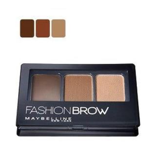 メイベリン(MAYBELLINE)の送料込  新品同様 メイベリン  ファッションブロウ パレットBR2 自然な茶色(パウダーアイブロウ)