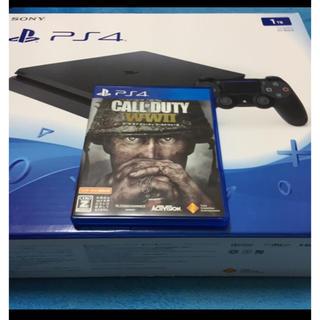 PlayStation4 - ps4 1tb 本体 codww2 セット