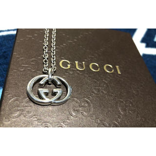 Gucci - 正規品 GUCCI グッチ ネックレス シルバー