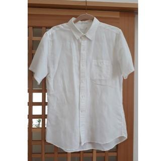 ジーユー(GU)のGU メンズ白シャツ(シャツ)