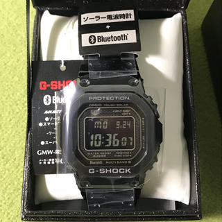 ジーショック(G-SHOCK)のG-SHOCK GMW-B5000GD-1JF ブラック フルメタル 新品未使用(腕時計(デジタル))