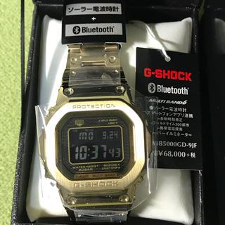ジーショック(G-SHOCK)のG-SHOCK GMW-B5000GD-9JF ゴールド フルメタル 新品未使用(腕時計(デジタル))