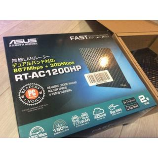 エイスース(ASUS)のASUS Wi-Fi無線ルーター RT-AC1200HP 11ac ジャンク(PC周辺機器)