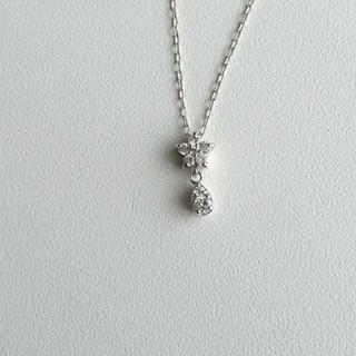 kumikyoku(組曲) - 組曲 K18WG ダイヤモンドネックレス