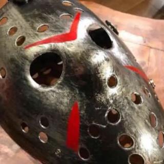 大人気  ハロウィン  ジェイソンマスク  13日の金曜日  送料無料(小道具)