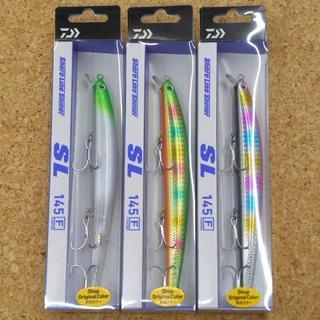 つり具のトミーオリカラ ショアラインシャイナーSL145F 3色セット(ルアー用品)
