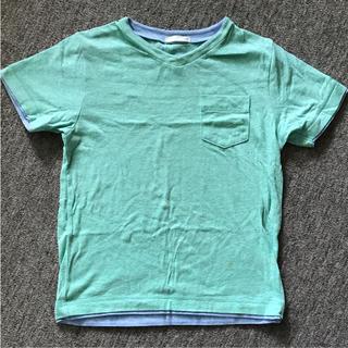 ジーユー(GU)の〈GU〉Tシャツネオンカラーグリーン[130](Tシャツ/カットソー)
