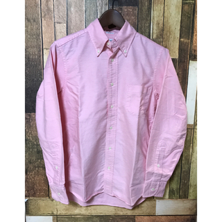 インディヴィジュアライズドシャツ(INDIVIDUALIZED SHIRTS)のインディビジュアライズドシャツ 14 1/2 オックス スタンダードフィット美品(シャツ)