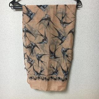 鳥柄スカーフ(スカーフ)