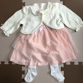 ベルメゾン - パーティーワンピースドレス 幼児サイズ80cm